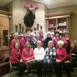 Members of the Persian Pickle Club take a photo together on Dec. 14.