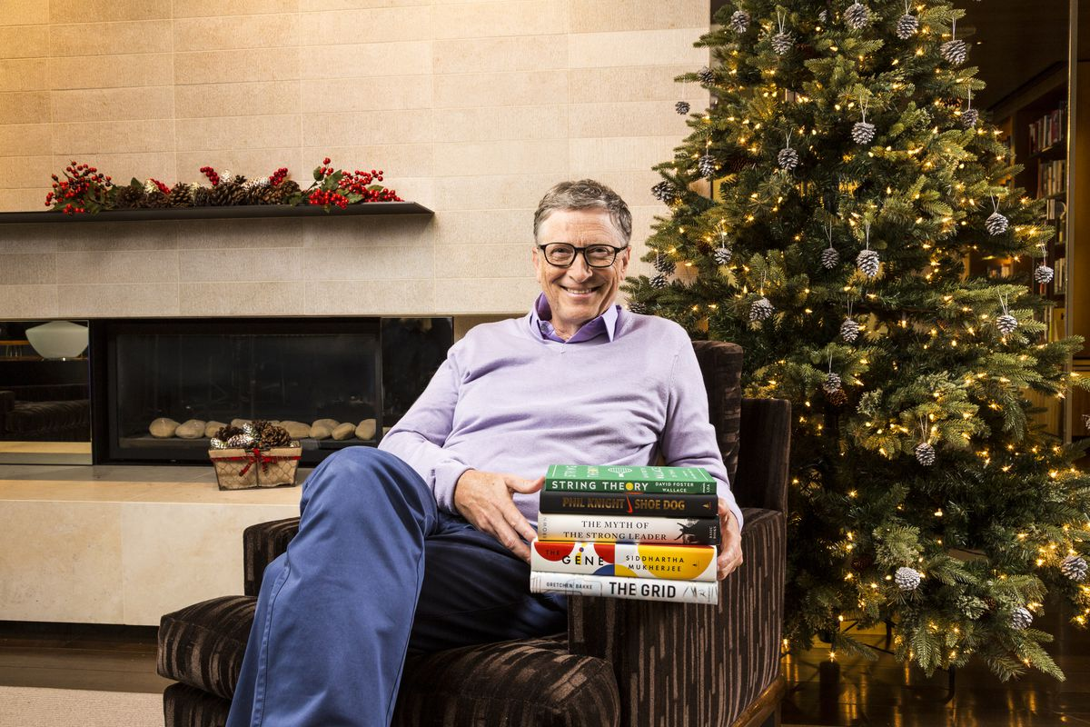 These were Bill Gates's five favorite books of the year