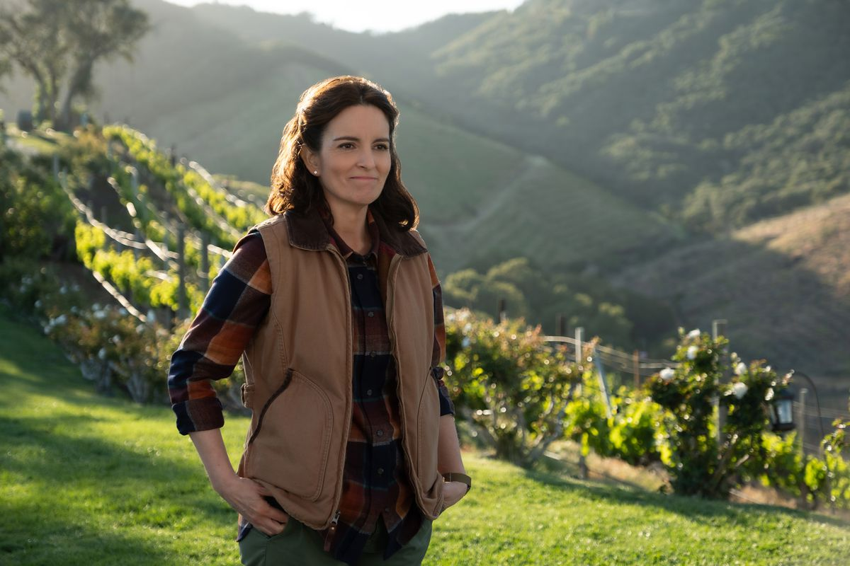"""Tina Fey plays the owner of a luxurious Napa Valley estate in """"Wine Country.""""   Netflix"""
