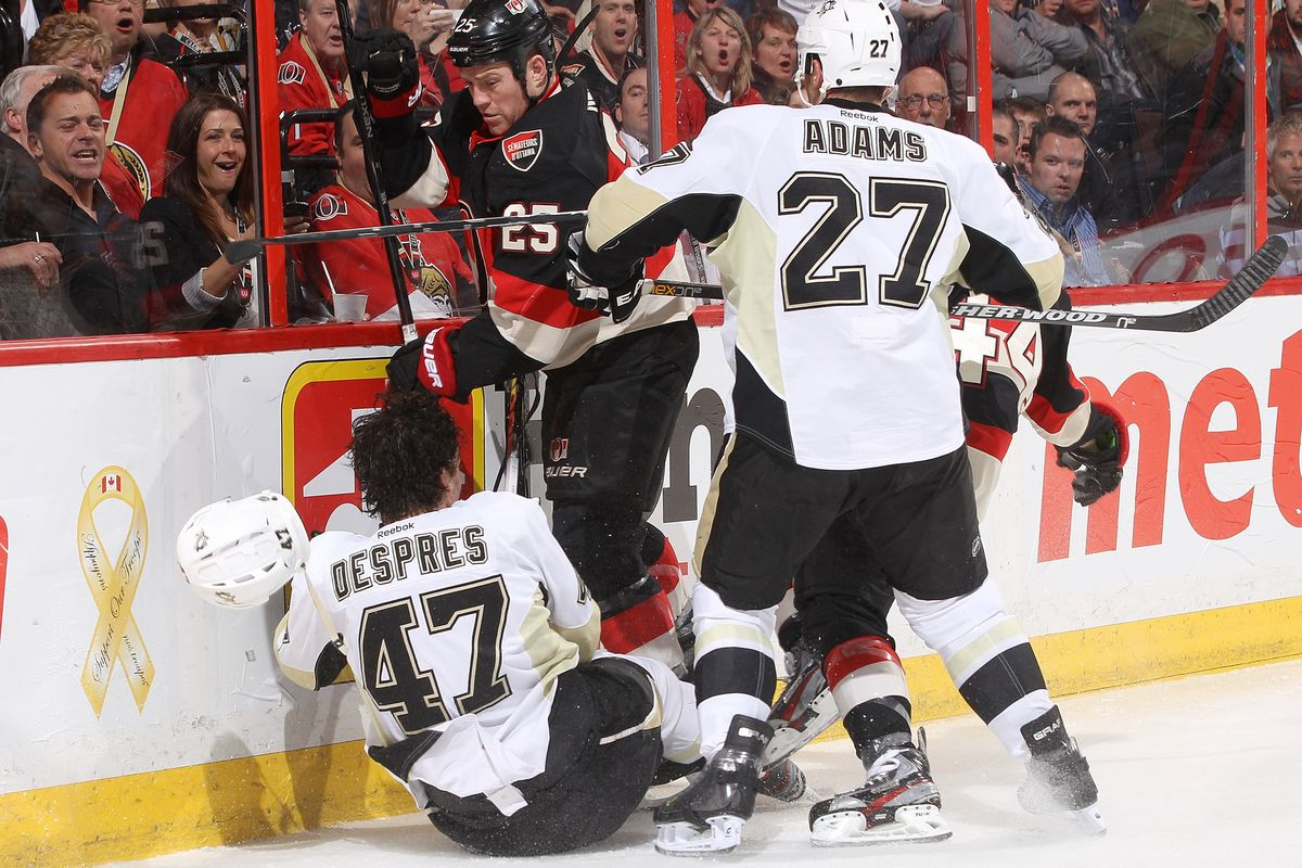 If you ask me, the Sens were not <i>Despres</i>ate enough tonight