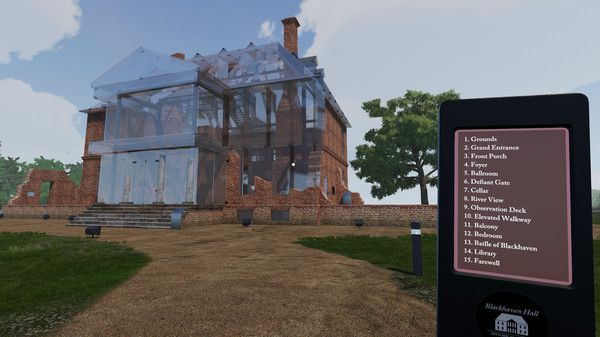 An image of a building being restored in the world of Blackhaven