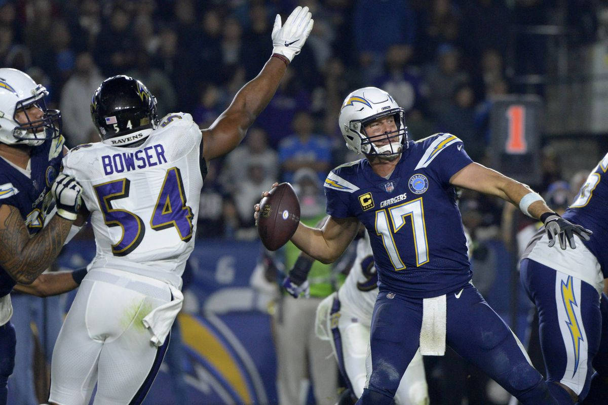 NFL Wild Card Round: Los Angeles Chargers at Baltimore Ravens open