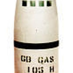 The 105mm artillery projectile is like those loaded with nerve agent or mustard gas that apparently contaminated a Utah family's property.