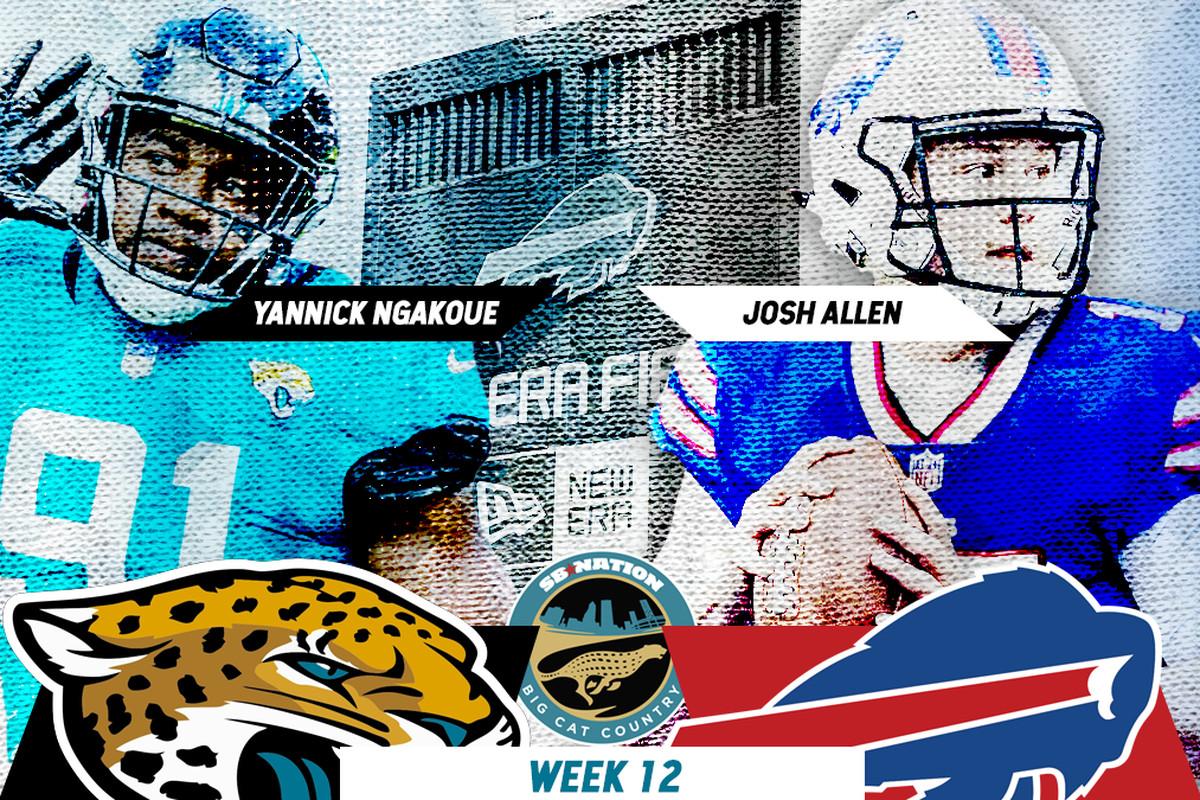 30f28292 Jacksonville Jaguars vs. Buffalo Bills primer: Key matchups ...