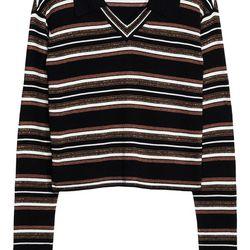 Lurex pullover, $85
