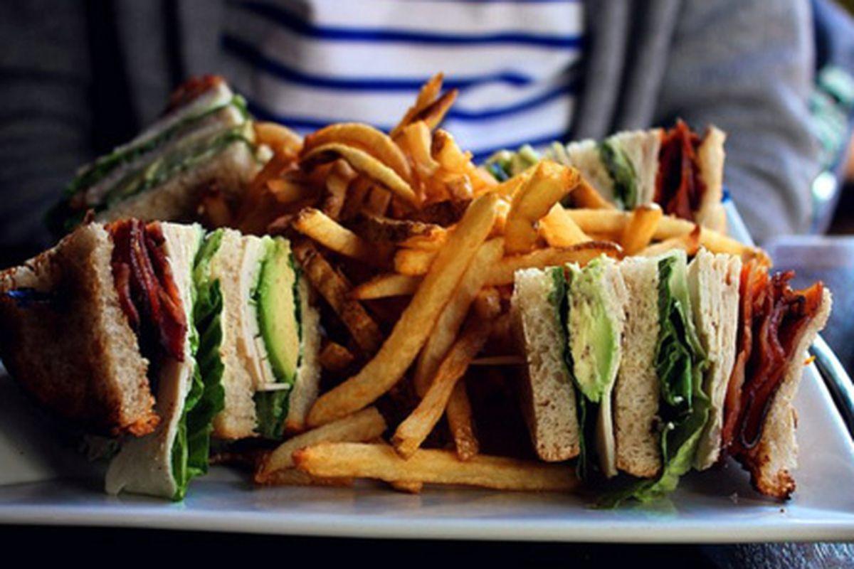 The amazing Club Sandwich