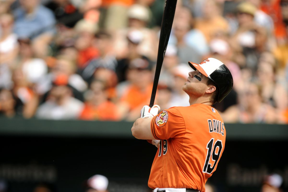 If you drafted Chris Davis in 2013, you probably won your fantasy leage