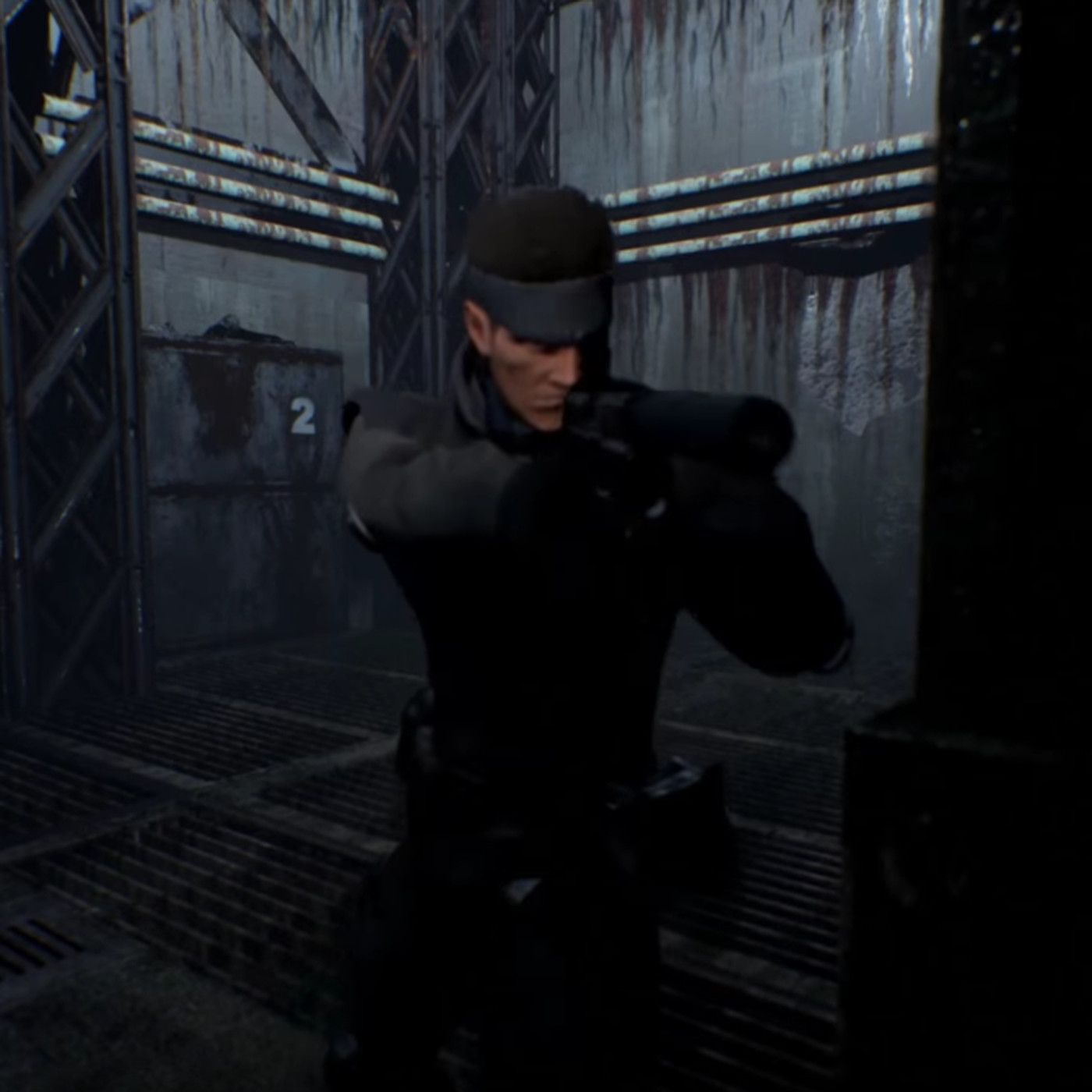 Watch the Metal Gear Solid remake on Unreal Engine 4 before