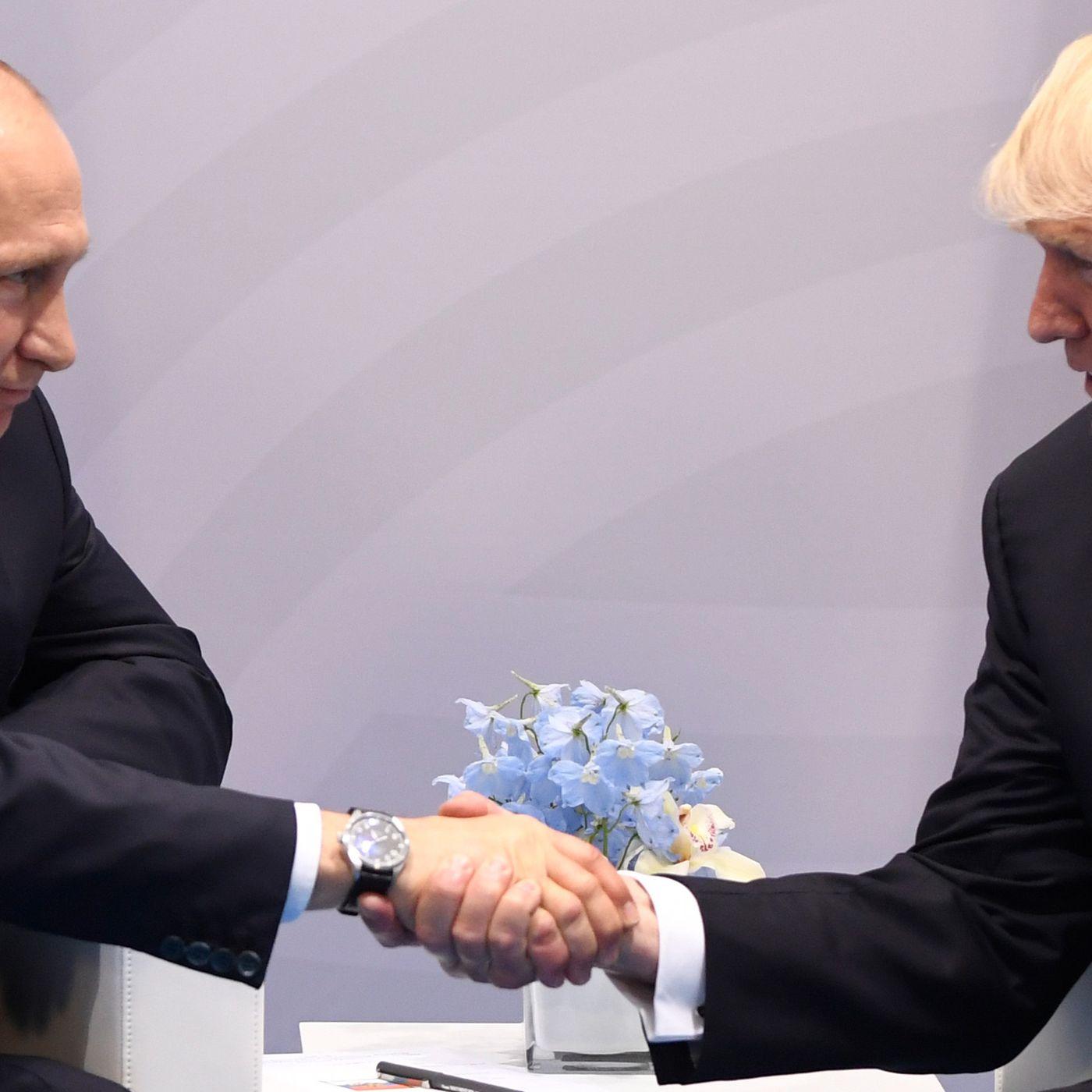 Trump passed his first test: the handshake with Putin - Vox