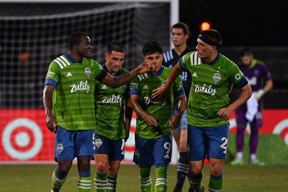 Seattle Sounders FC v Vancouver Whitecaps FC - MLS Is Back Tournament