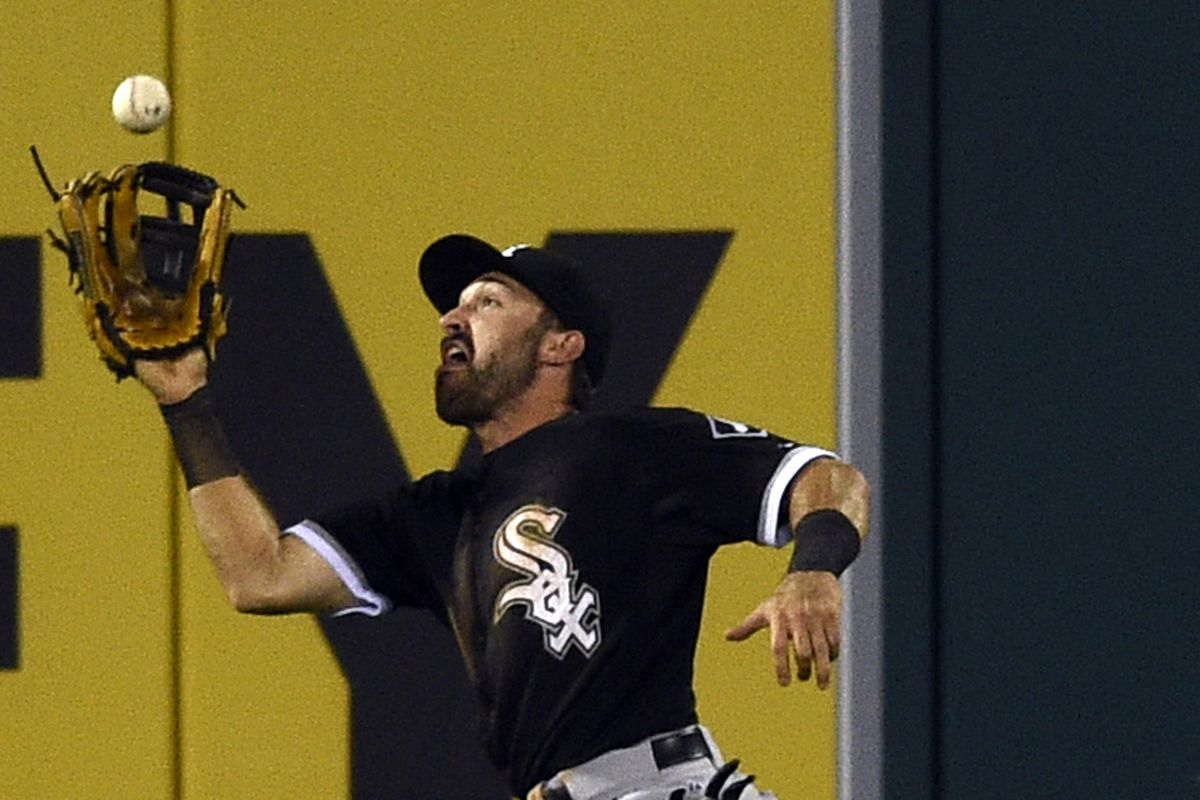 Adam Eaton kept the game from getting out of hand in the second with a fine running catch.
