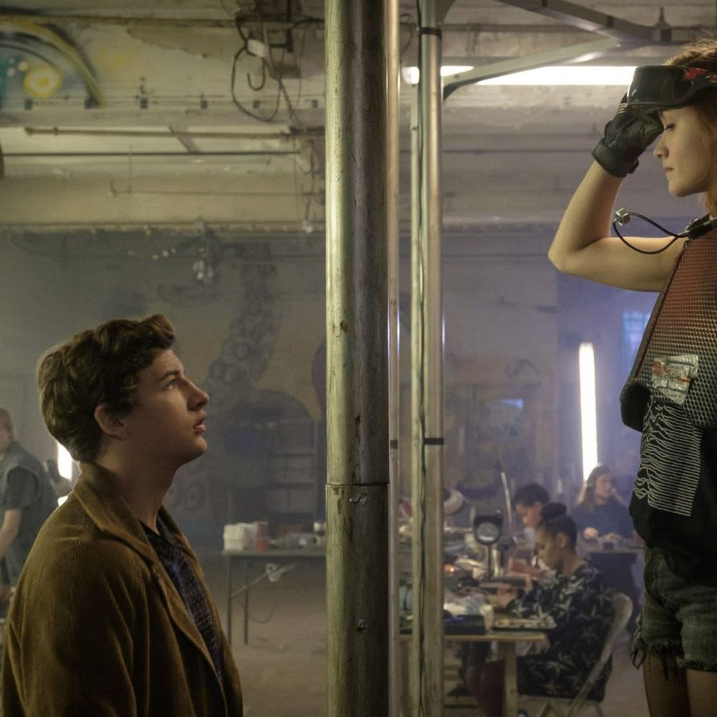 steven spielberg s ready player one improves immensely on the book the verge steven spielberg s ready player one