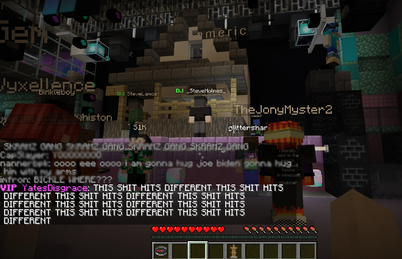 American Football Established Minecraft As A Concert Venue For The Foreseeable Future The Verge