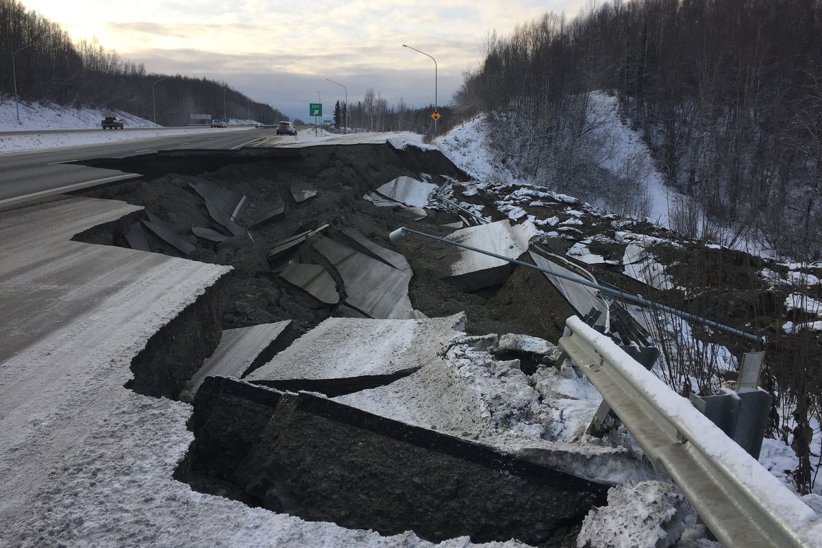 How Alaska fixed its earthquake-shattered roads in just days