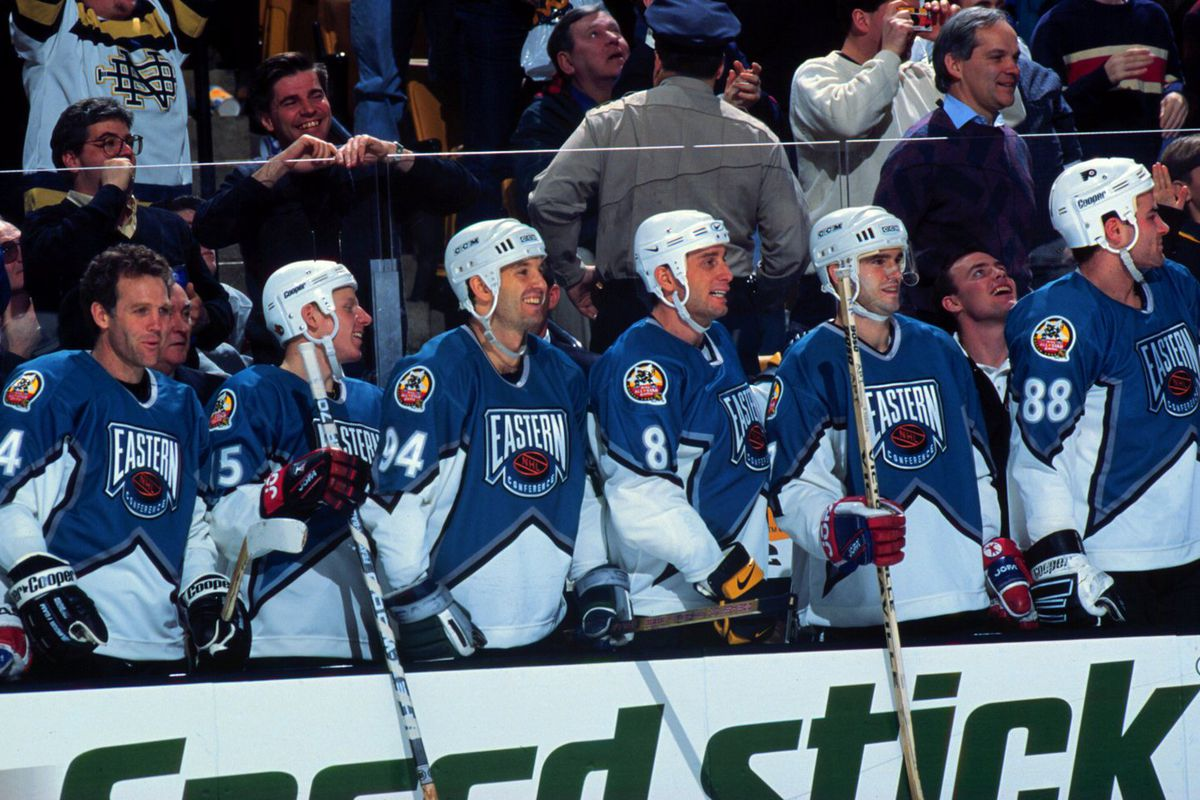 1996 46th NHL All-Star Game: Western Conference v Eastern Conference