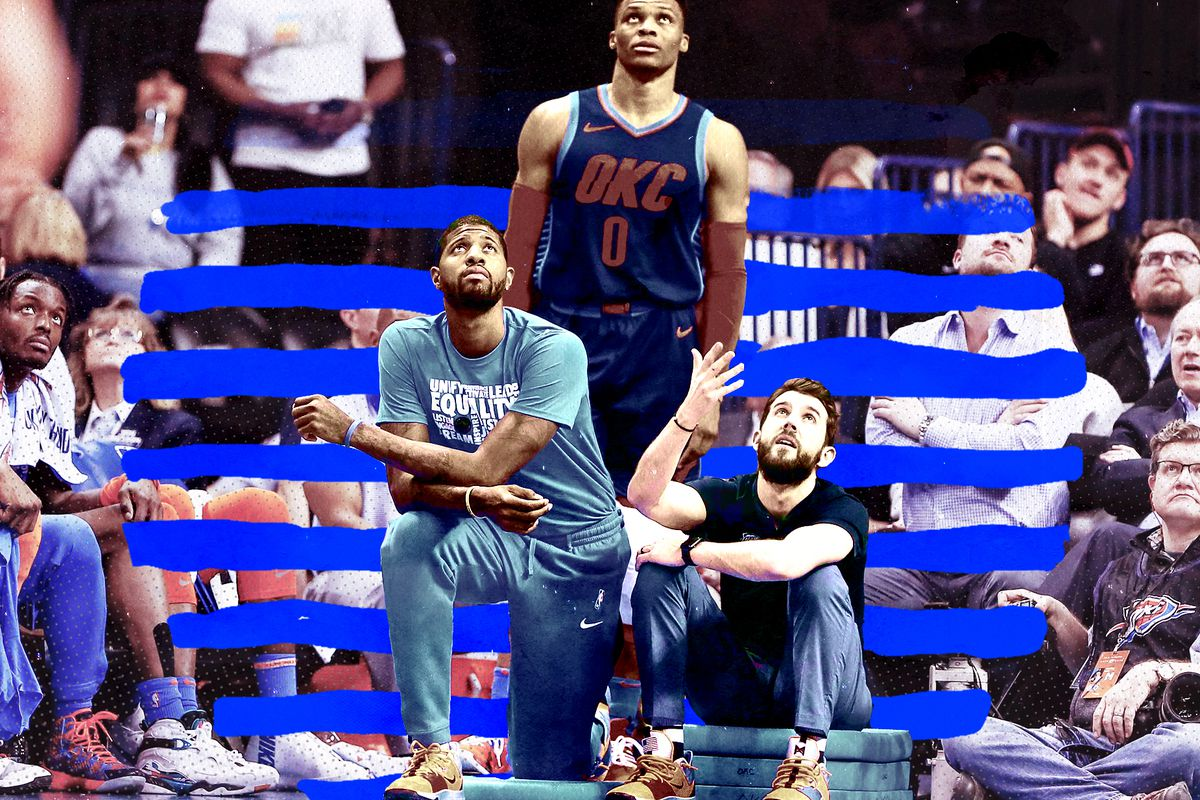 885e6c32263 The Oklahoma City Thunder haven t won a playoff series since Kevin Durant  skipped town in 2016. In fact
