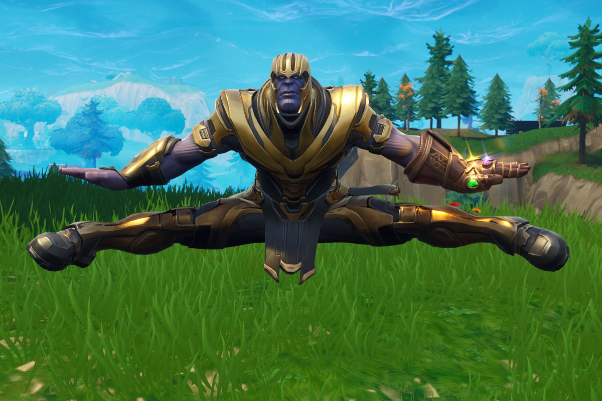 Image result for epic games thanos