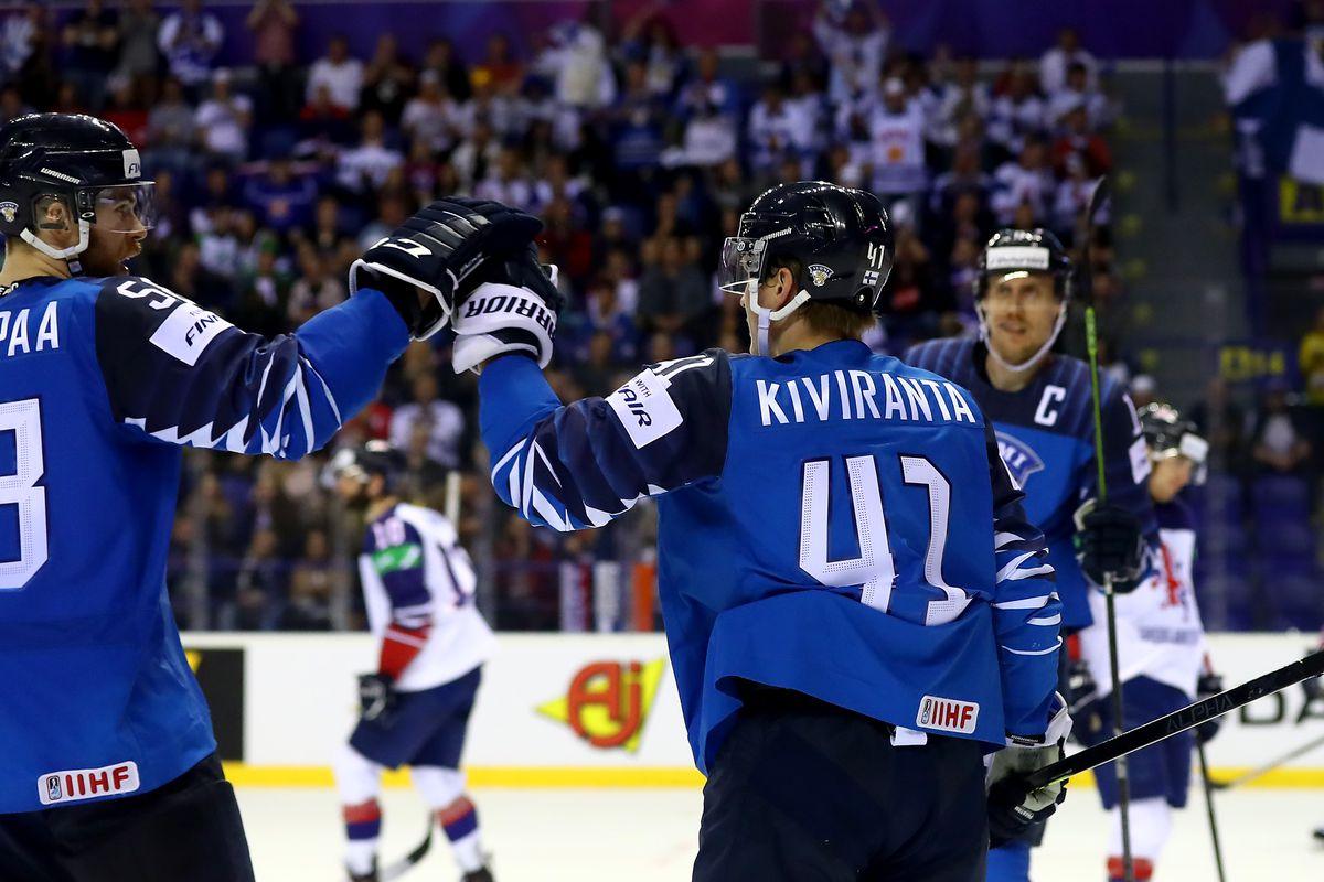 Finland v Great Britain: Group A - 2019 IIHF Ice Hockey World Championship Slovakia