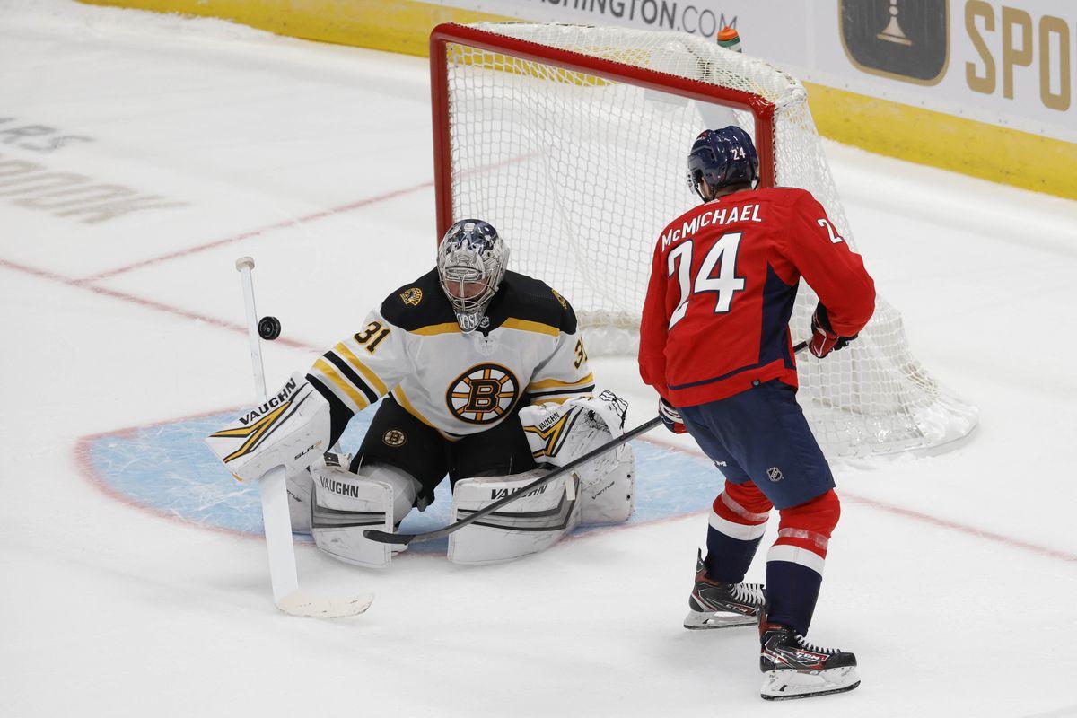 NHL: Preseason-Boston Bruins at Washington Capitals