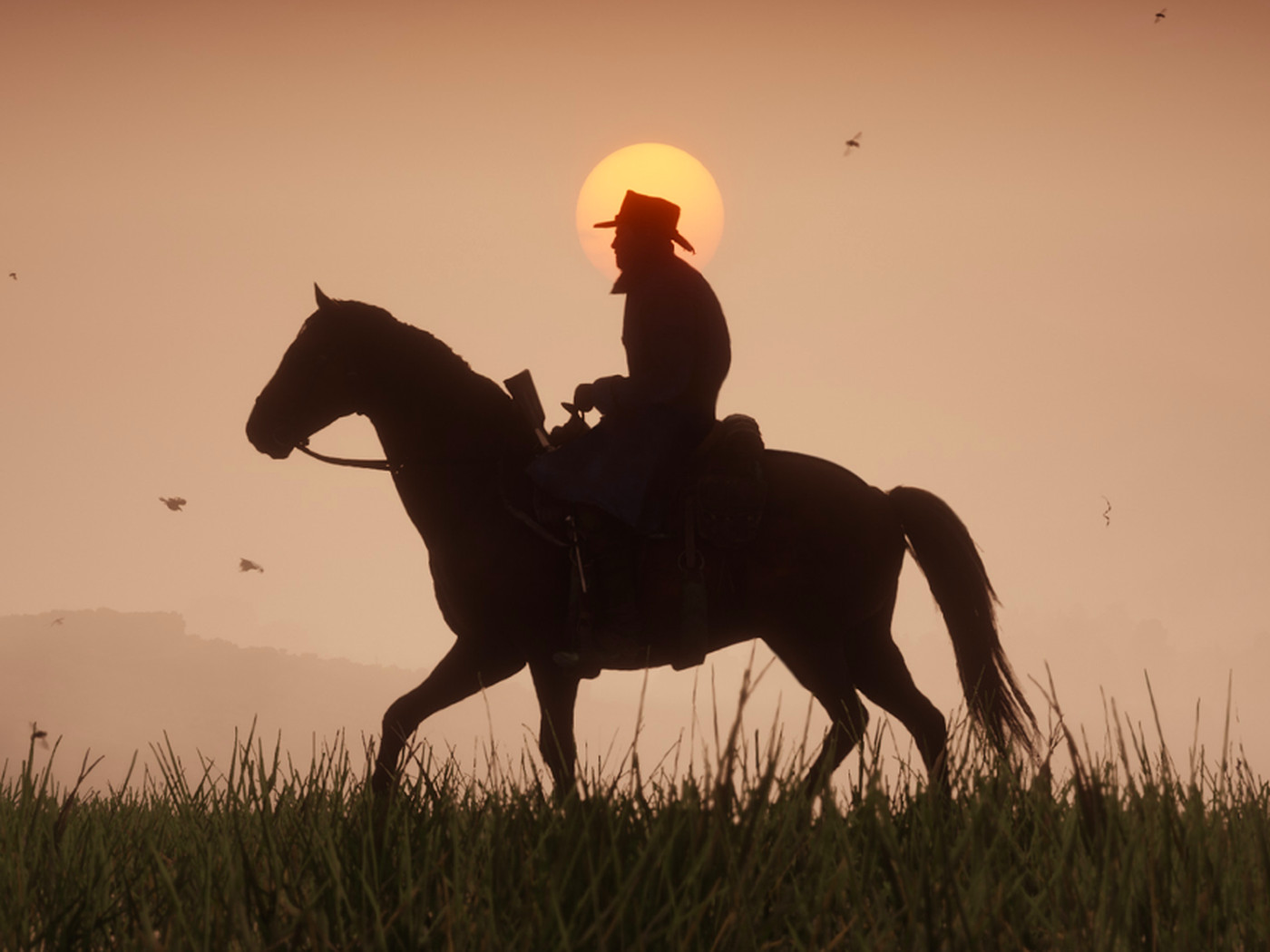 Red Dead Redemption 2 Has A Cursed Road On Rhodes That Always Sets Horses On Fire The Verge