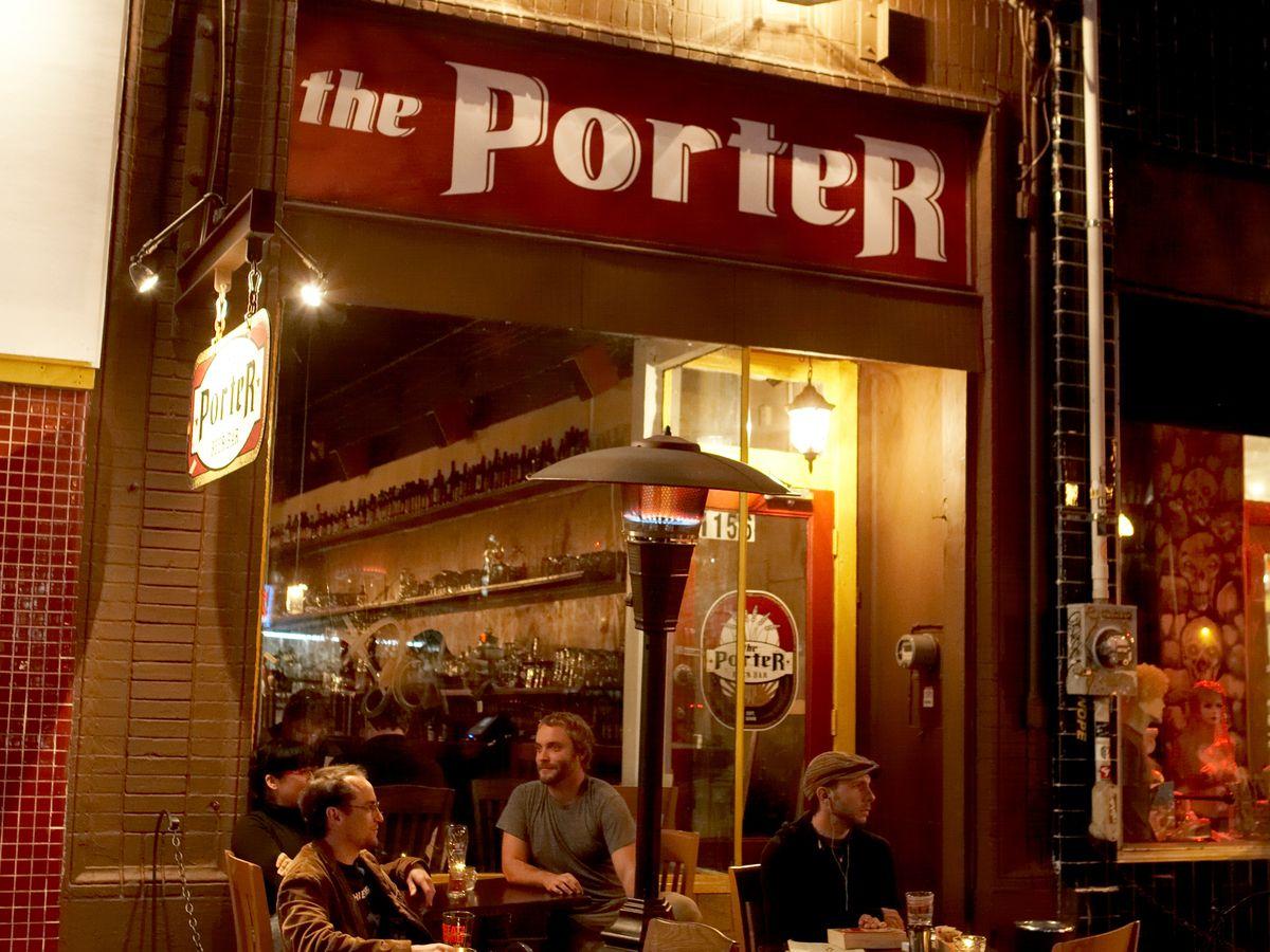Exterior shot of The Porter