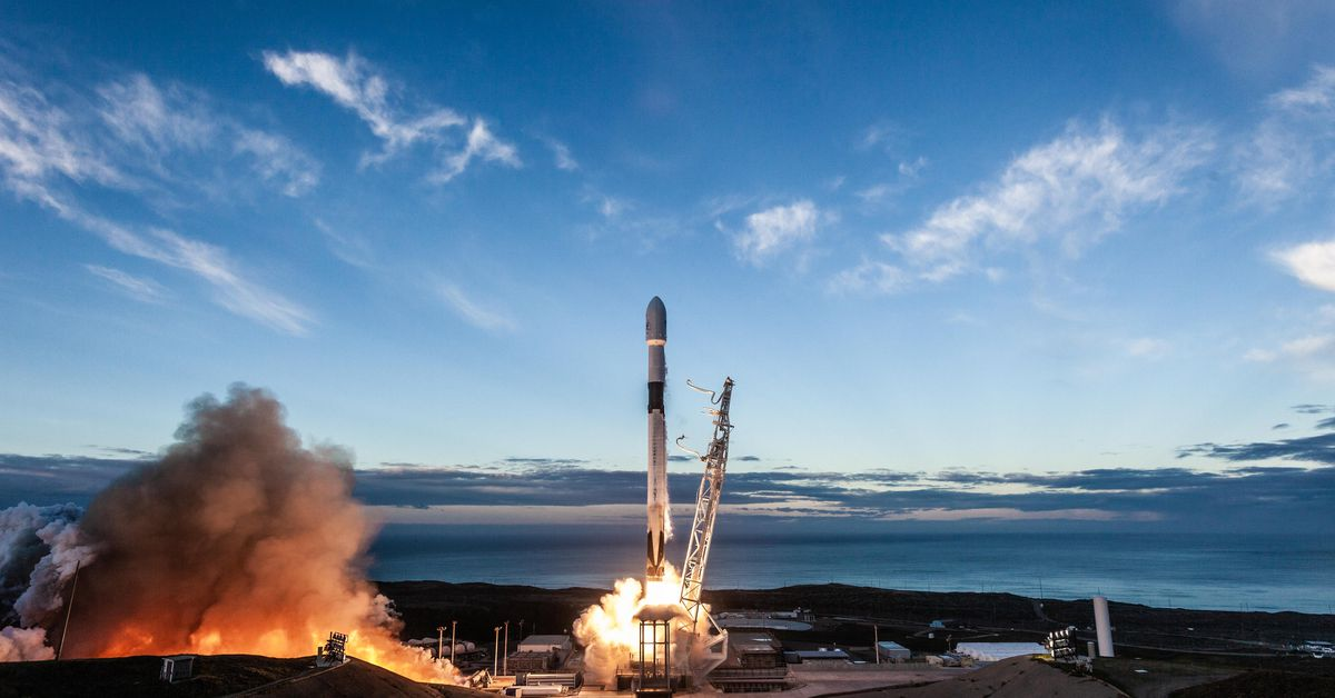 photo of Watch SpaceX launch and land its Falcon 9 rocket on the California coast image