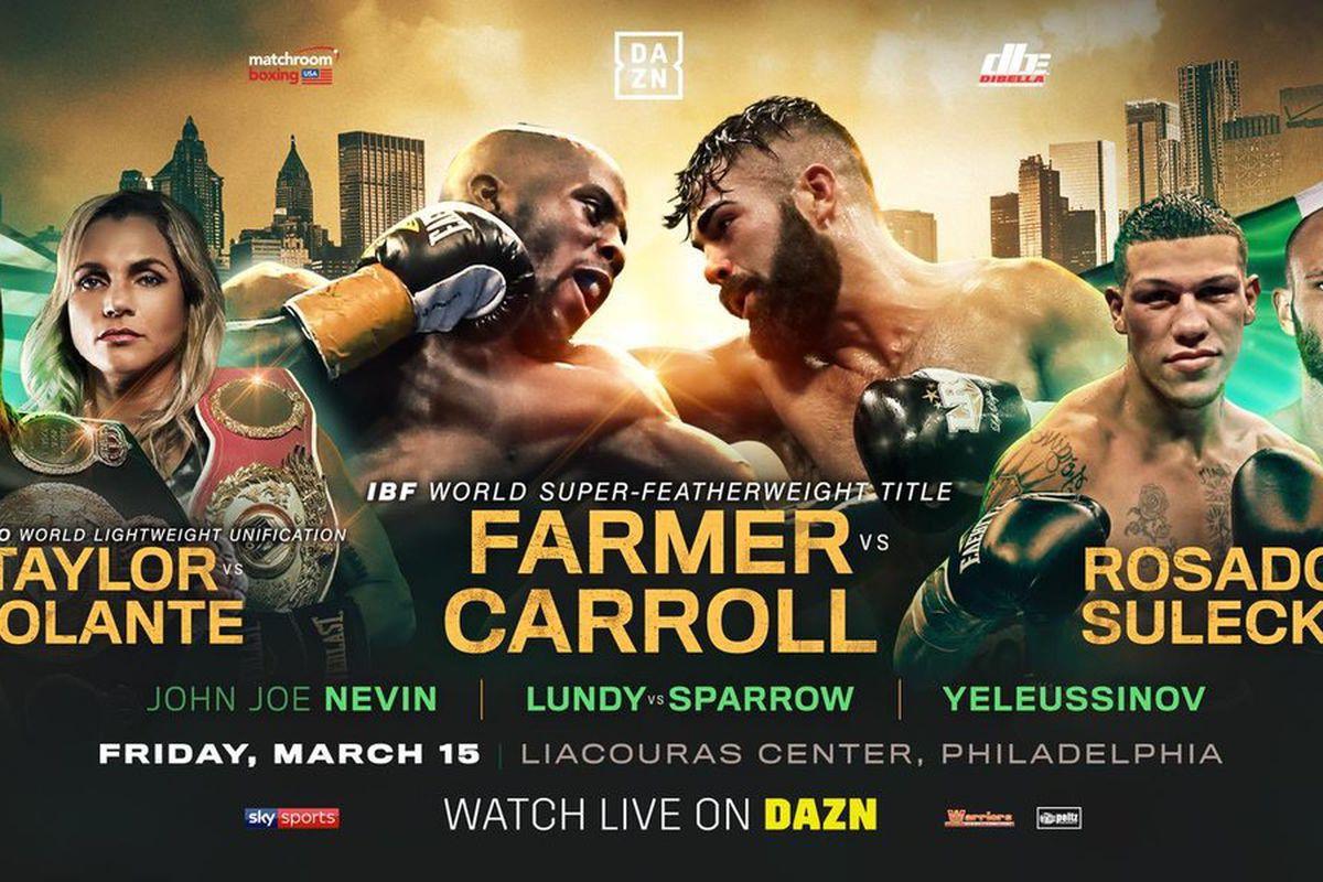 Những sự kiện Boxing đáng theo dõi trong tháng 3/2019