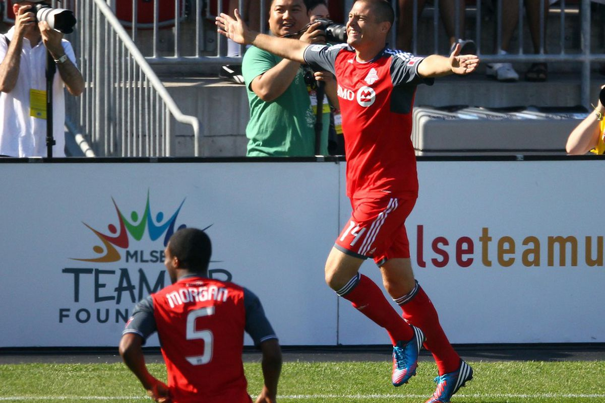 A happy Danny Koevermans is a very good thing for TFC and boy has he looked a lot happier of late