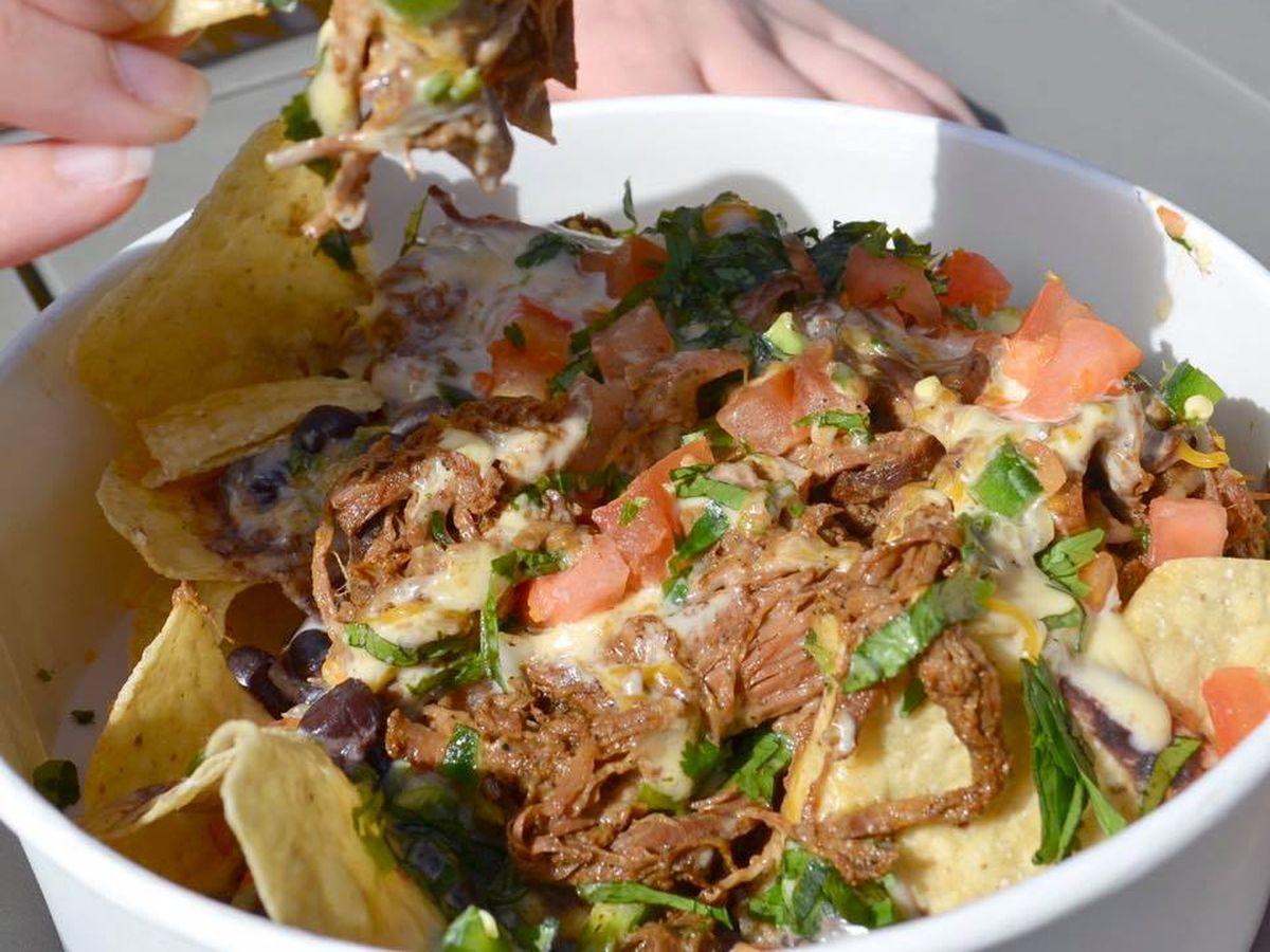 District Taco's nachos