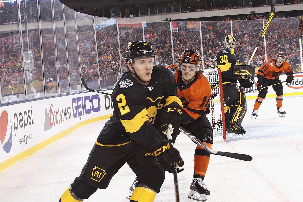 buy online 72b6c fc9bd Penguins re-sign defenseman Chad Ruhwedel for two years ...