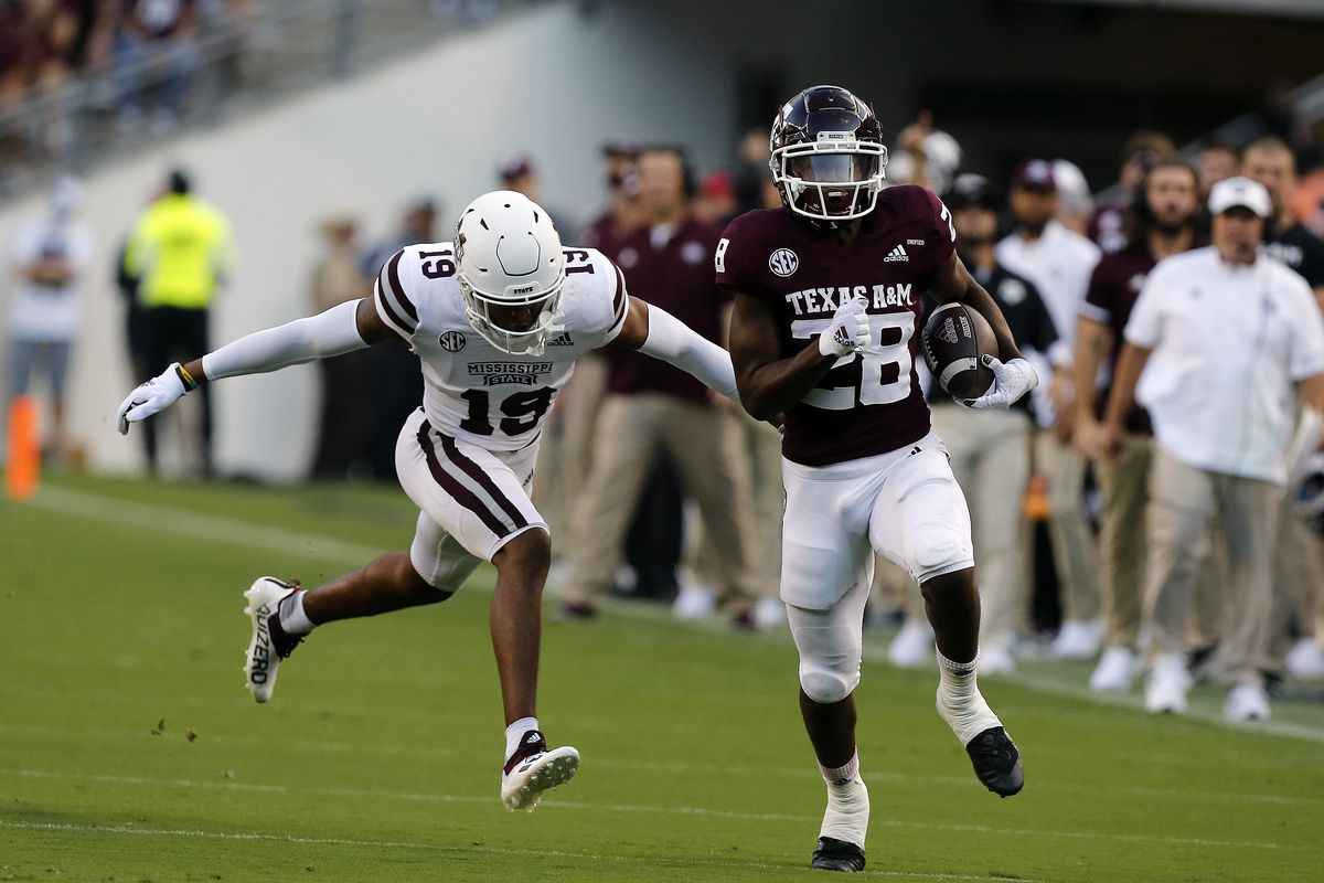 COLLEGE FOOTBALL: OCT 02 Mississippi State at Texas A&M