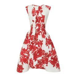 "Thom Browne <a href=""http://modaoperandi.com/thom-browne/fallwinter-2013/rtw-1722/item/lace-printed-crepe-de-chine-dress-206135"">lace printed dress</a>, $3,500 at modaoperandi.com.<br /><br />  <b>Moda Operandi</b> is known for its straight-off-the-runw"