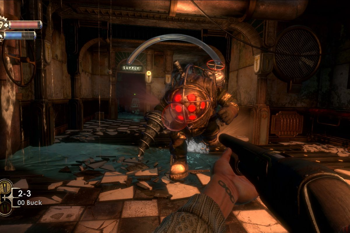 BioShock remastered editions on PC sound worse off than the