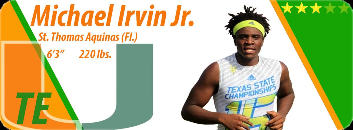 Irvin card