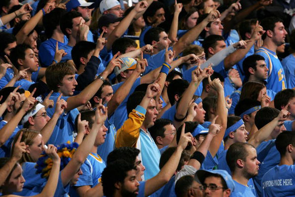 <em>Bruins need the Pauley crowd rocking this afternoon. Photo by Stephen Dunn/Getty Images</em>