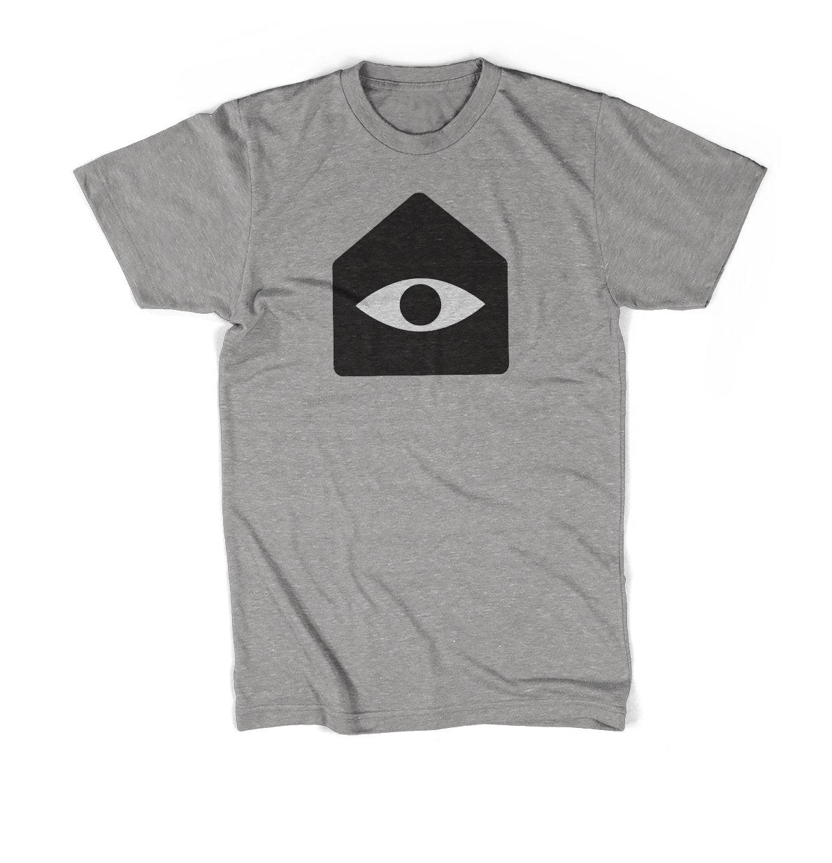 A t-shirt with the Secret Base icon on the front