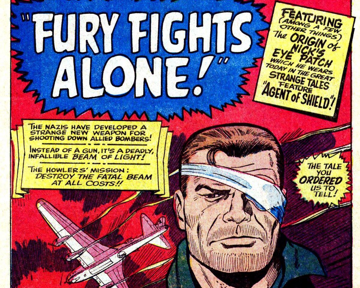 Sgt Fury and his Howling Commandos #27, Marvel Comics (1966).