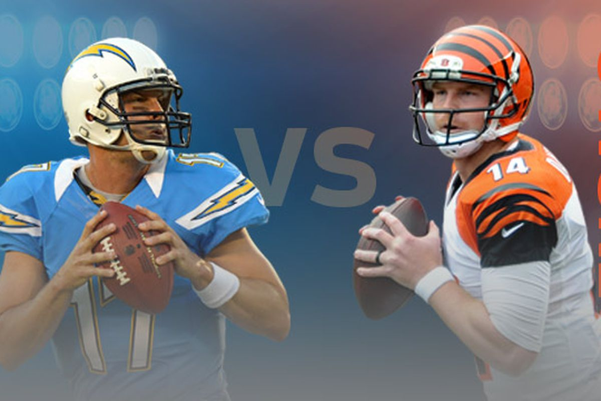The Chargers' Philip Rivers and the Bengals' Andy Dalton are the two players to watch in Sunday's Chargers vs. Bengals Wild-Card game.