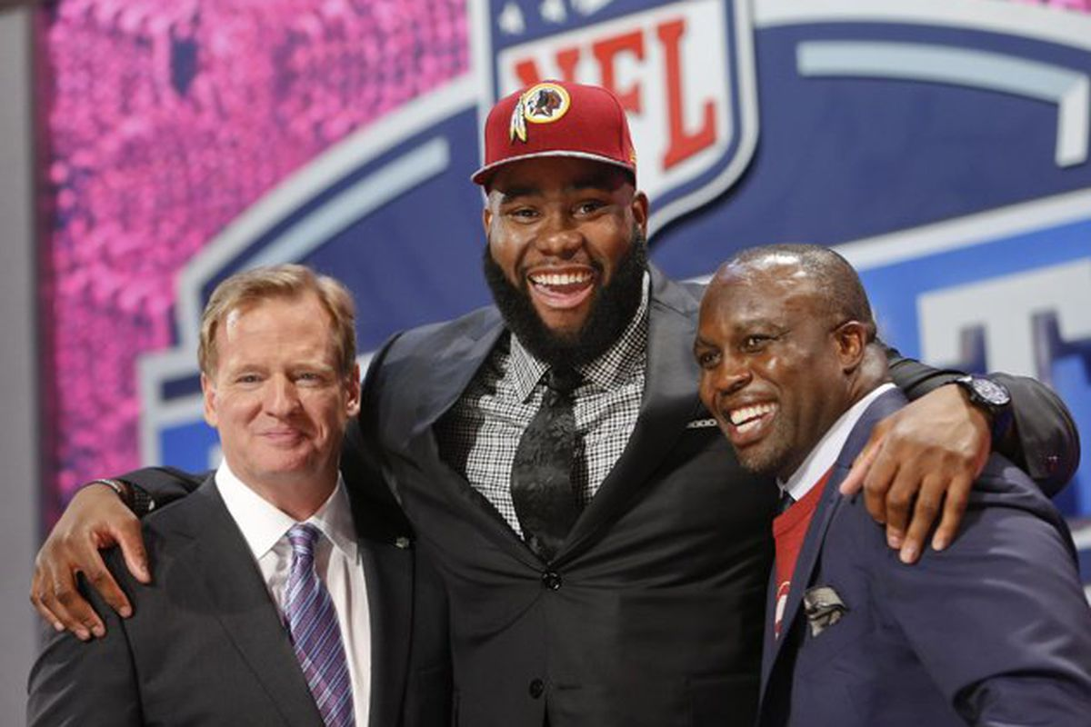 Morgan Moses Signs Rookie Contract With Redskins Hogs Haven
