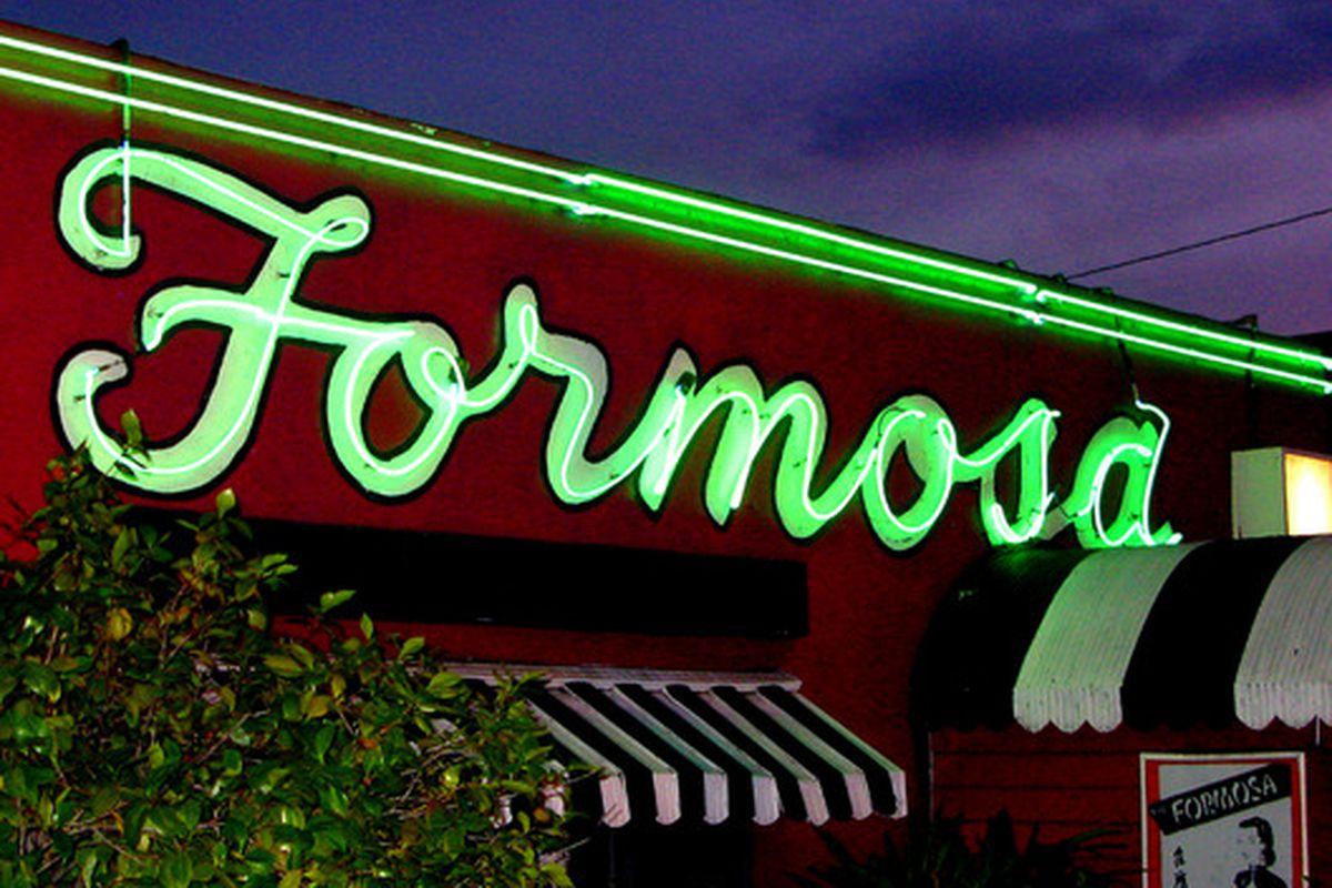 Formosa Cafe, West Hollywood.