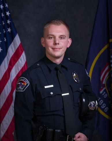 West Valley police officer Cody Brotherson