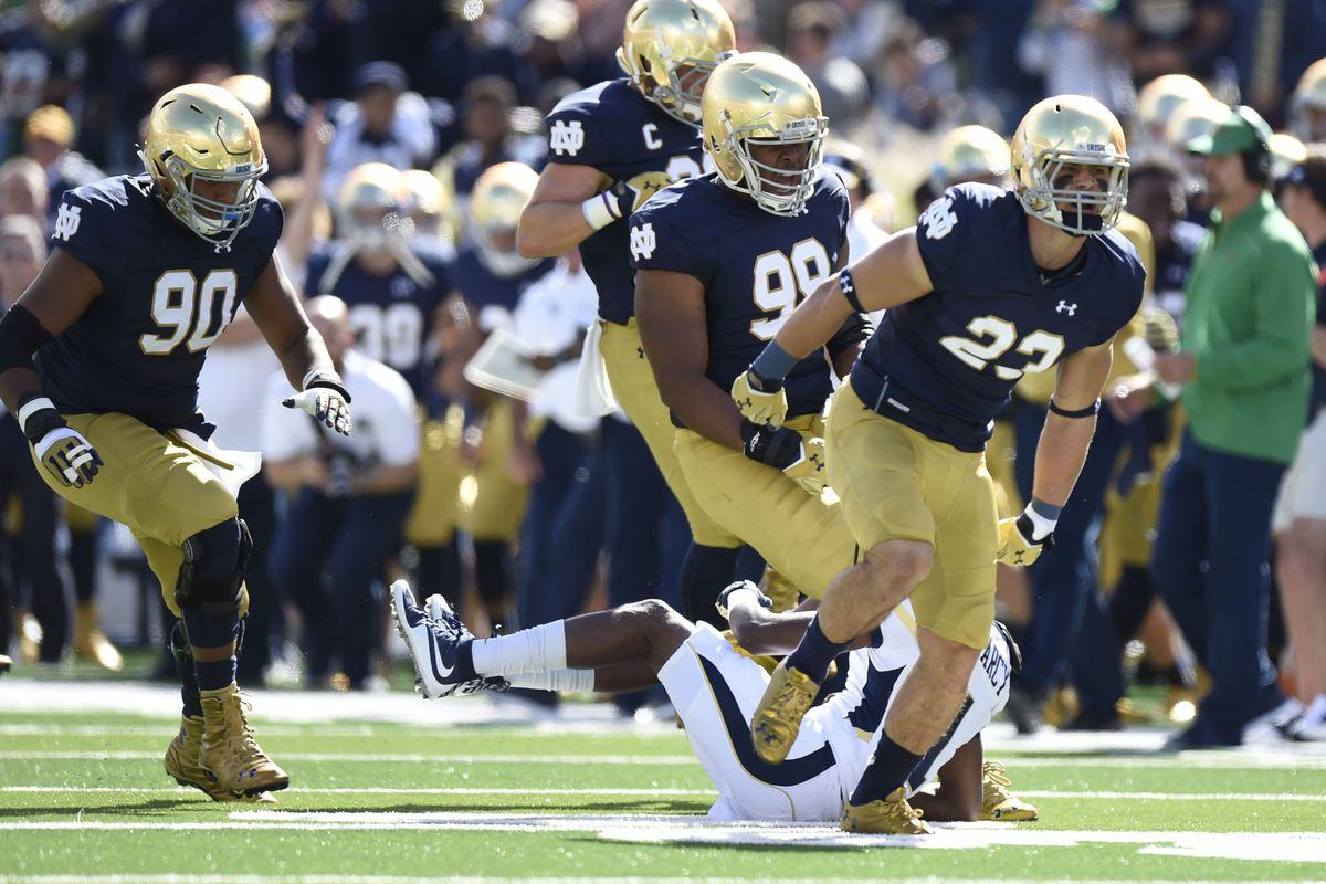 NCAA Football: Georgia Tech at Notre Dame