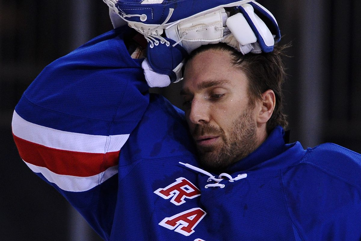 The Raw Reality Of Henrik Lundqvist On These Rangers Blueshirt Banter