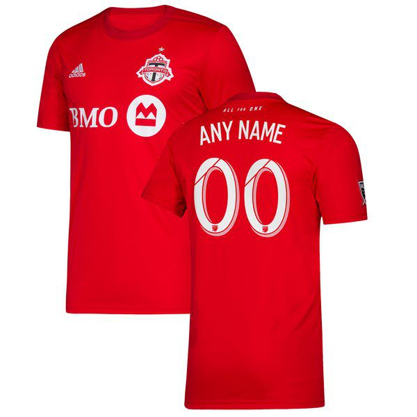 new style 81300 6a42d Toronto FC 2019 Primary Custom Replica Jersey for  119.99 MLSStore.com