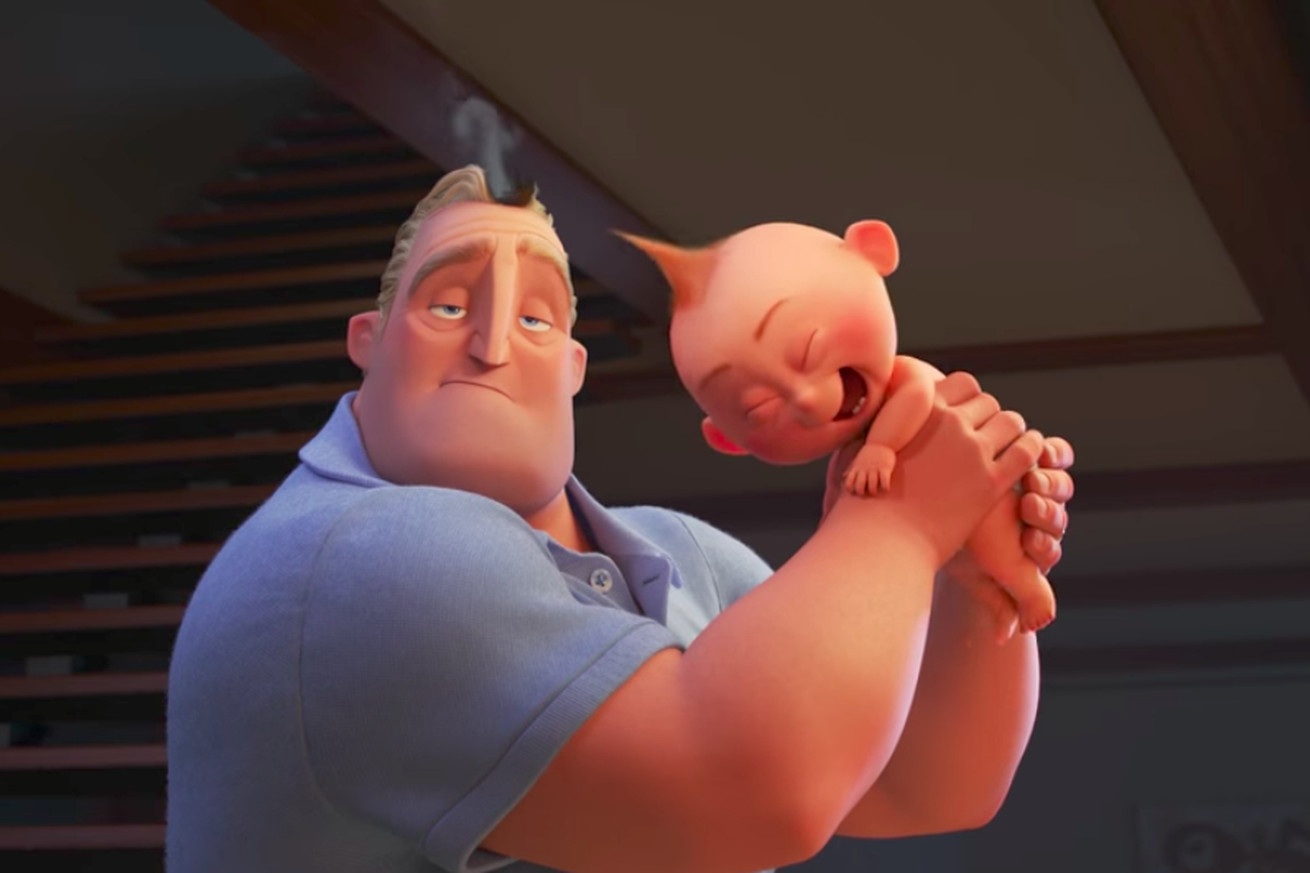 the first teaser for the incredibles 2 shows off the dangers of a superpowered baby