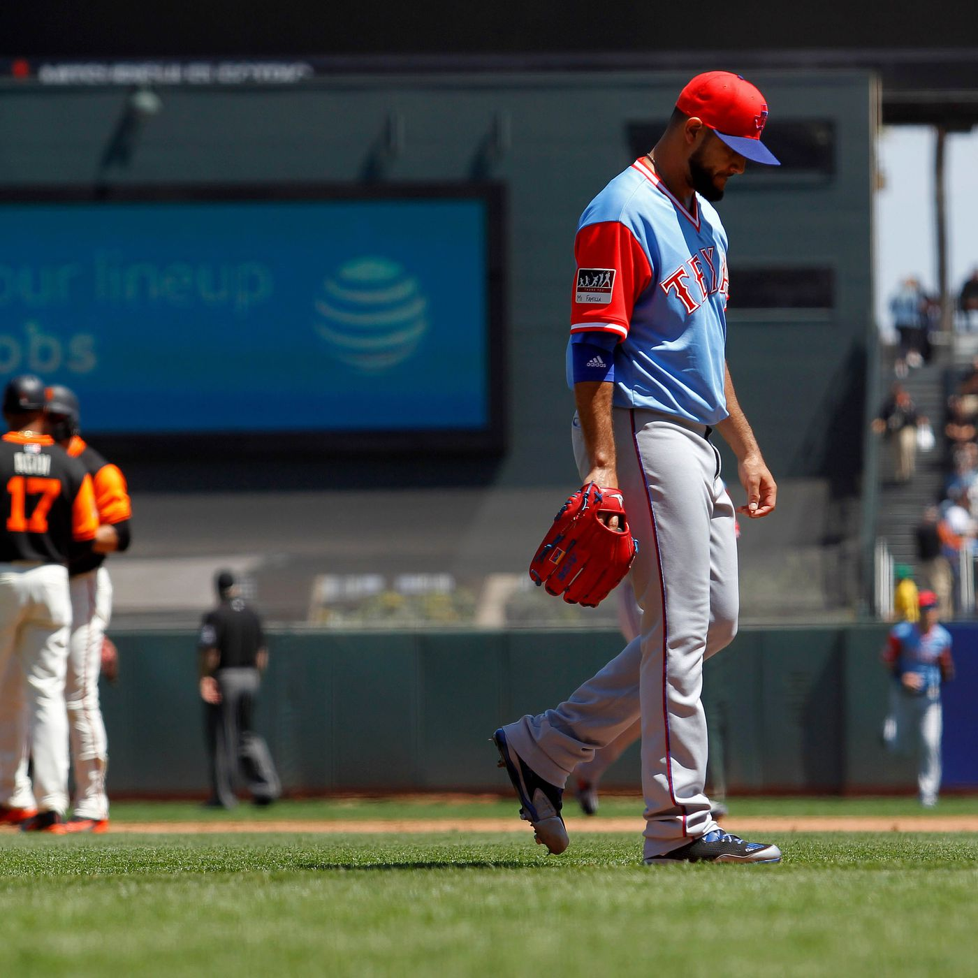 Big Inning Dooms El De Las Matas Perez As Rangers Fall In San