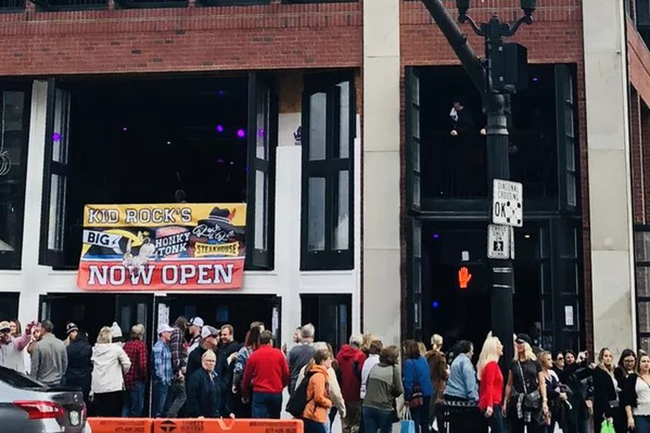 Kid Rock S Broadway Bar Packs In Crowds Receives Citation For
