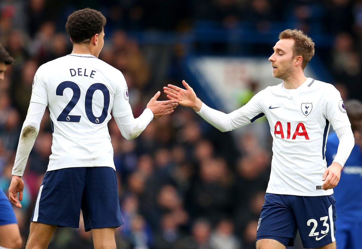 Dele Alli and Christian Eriksen - Tottenham Hotspur - Premier League