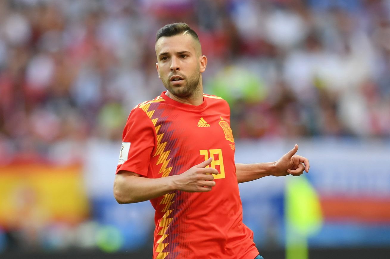 Alba back in Spain squad