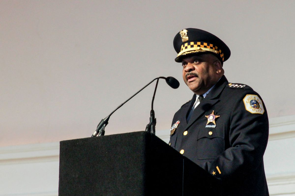 Chicago police chief Eddie Johnson hospitalized for blood clot in lung